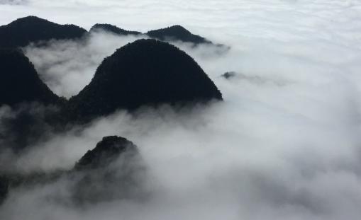 黃山雲海的形成
