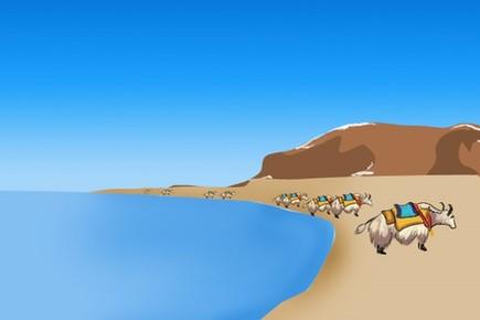 """納木錯:西藏的""""天湖"""""""