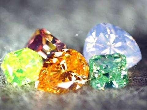 有顏色的鑽石——彩鑽