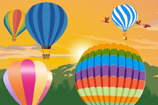 熱氣球——人類最早的飛行工具