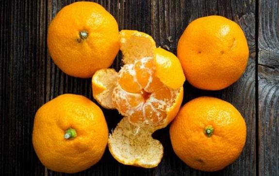 鮮橘皮不可像陳皮一樣直接泡水