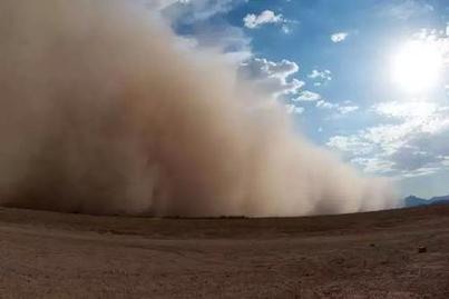 沙塵天氣是如何形成的?