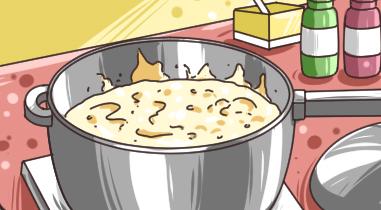 粥涼了為什麼會更稠?